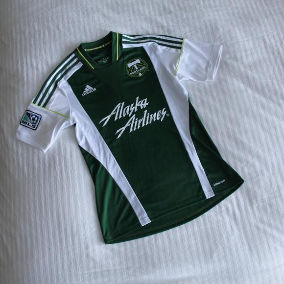 d645556cc NWOT Adidas Portland Timbers Soccer Jersey. M_5b0f759d45b30c2acb98fff7